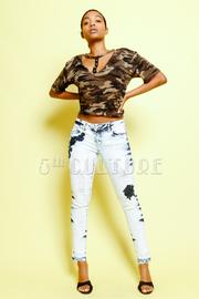 Acid In Style Skinny Jeans