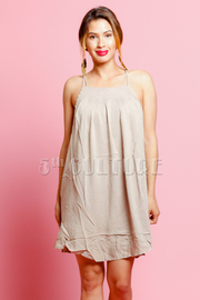 Summer Tank Tunic Dress