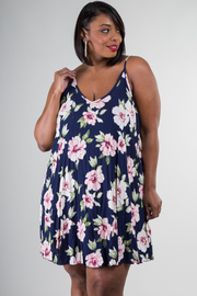 Plus Size Hot Floral Summer Dress