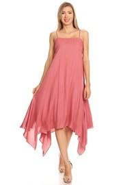 Summer Asymmetrical Flowy Dress
