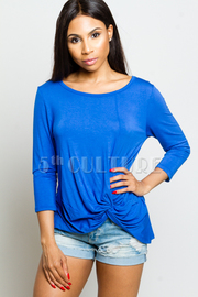 3/4 Sleeved Solid Top