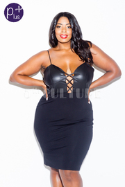 Plus Size Looking Sexy On The Club Bodycon Dress