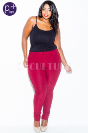 Plus Size Classy Tie Up Side Skinny All Day Jeans