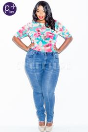 Plus Size Classic 5-Pocket Skinny Denim Jeans