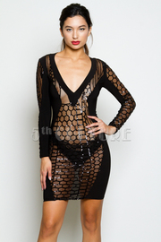 Sexy Cocktail Sequin Tube Dress