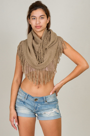 Fall Into This Cozy Infinity Acrylic Scarf