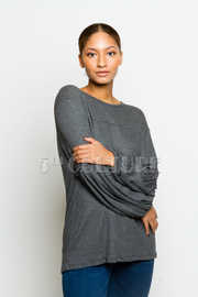 Long Sleeved Solid Top