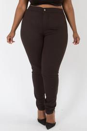 Plus Size High Waist Basic Denim Jeans