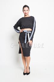Love Trim 2-Piece Sweater Skirt Set