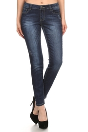 Casual Denim Skinny Jeans