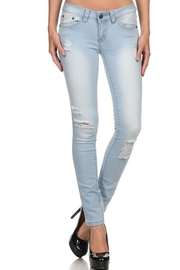 Casual In Light Denim Skinny Jeans