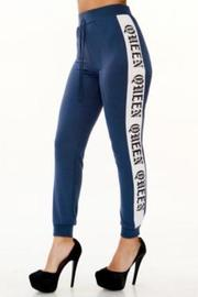 Plus Size Queen Side Sexy Jogger Pants