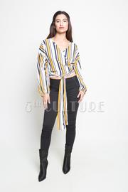 Stylish Striped Long Sleeved Shirt