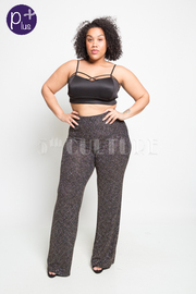 Plus Size Shimmery Sexy Diva Pants