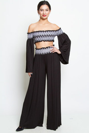 SEXY TOP AND PANTS SET