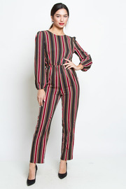 STYLISH STRIPE PATTERN JUMPSUITS