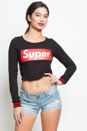 COMFY SUPER LOGO TOP