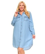 PLUS SIZE SHIRTS COMFY DRESS