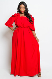 PLUS SIZE GORGEOUS LONG DRESS