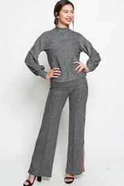Shimmer 2-Piece Sporty Pants Sweater Set