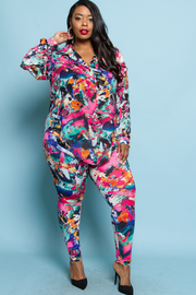 PLUS SIZE SHIRTS AND PANTS SET