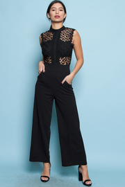 MESH SEXY BACK JUMPSUITS