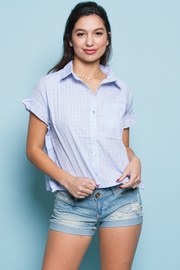 SHORT SLEEVE SHIRTS TOP