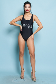 SINGLE PRINTED ONEE PIECE SWIMWEAR