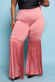 PLUS SIZE BOOT CUT PANTS