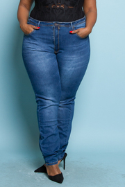 PLUS SIZE SKINNY DENIM JEAN