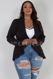 PLUS SIZE LONG SLEEVE CARDIGANS
