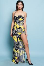 SEXY SLEEVELESS MAXI DRESS