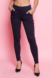 PANTS LEGGINGS WITH SIDE STRIPE POINT