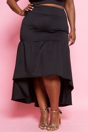 PLUS SIZE A- LINE SKIRTS