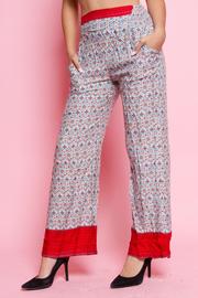 PATTERN COMFY PANTS