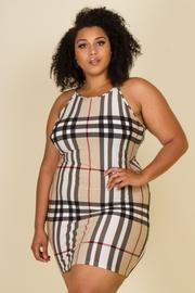 Plus Size Halter Dress
