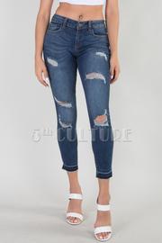 Denim Destroyed Jeans
