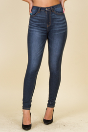 Skinny Leg High Waist Denim