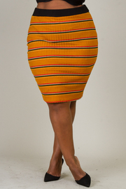 Plus Size Tube Skirt