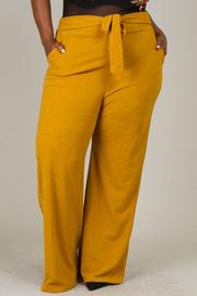 Plus Size Straight Legged Pants
