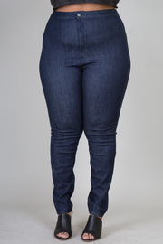 Plus Size Fitted Jean