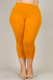Plus Size Capri Legging