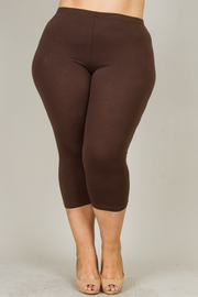 Plus Size Capri Legging
