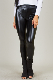 Shiny Pleather Leggings