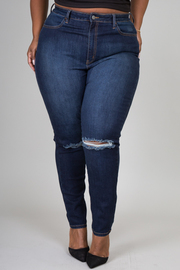 Plus Size Fitted Jeans