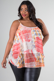 Plus Size Spaghetti Strap Top