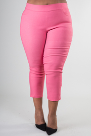 Plus Size Fitted Pant