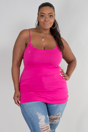 Plus Size Solid basic Top