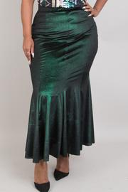 Plus Size Mermaid Metallic Skirts