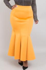 Plus Size Mermaid Maxi Skirts